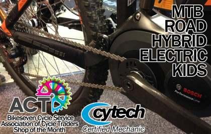 BikeSeven Cycle Service, Longtown, Carlisle
