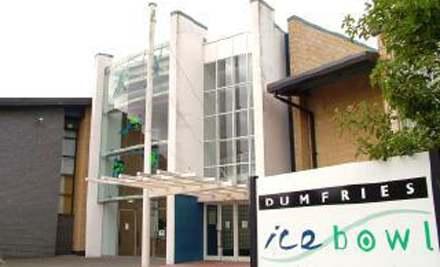 Dumfries Ice Bowl, Skating